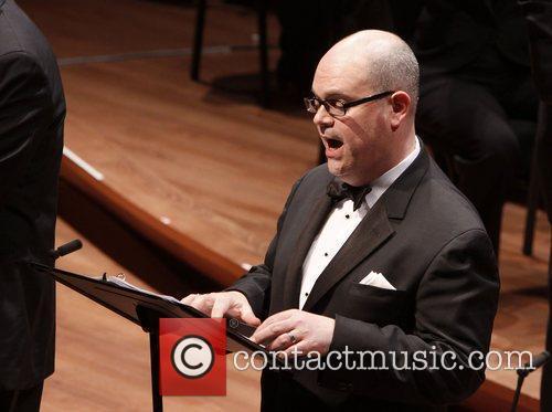 Brad Oscar The Collegiate Chorale production of 'Knickerbocker...