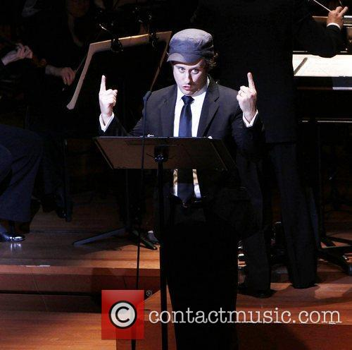Christopher Fitzgerald The Collegiate Chorale production of 'Knickerbocker...