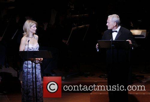 Kelli O'Hara and Victor Garber The Collegiate Chorale...