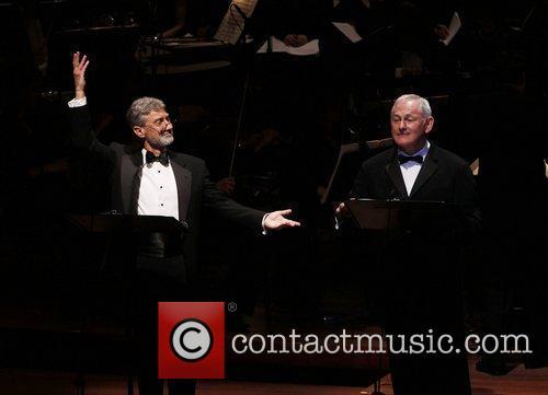 David Garrison and Victor Garber The Collegiate Chorale...