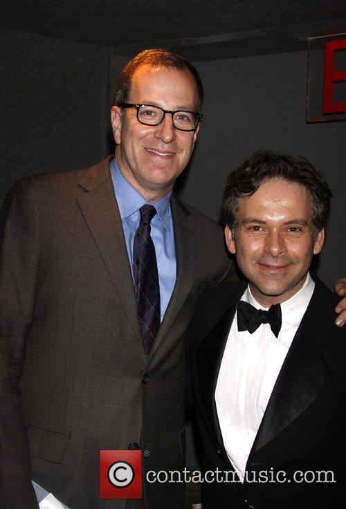 Ted Sperling and James Bagwell Backstage at The...
