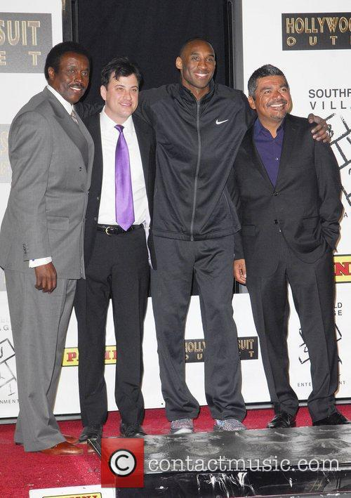 Jimmy Kimmel, George Lopez and Kobe Bryant 1