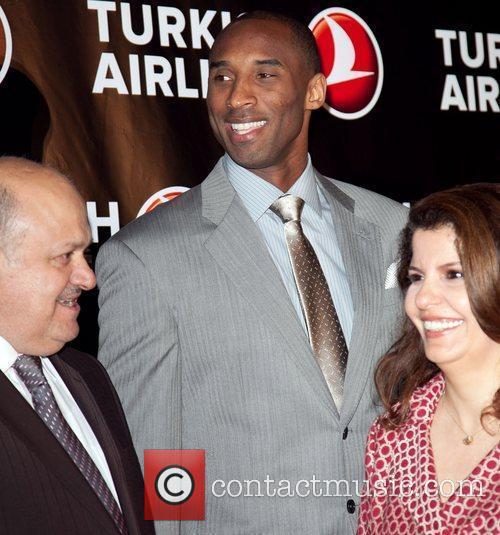 Hamdi Topcu, Kobe Bryant, and Fatma Yuceler Kobe...