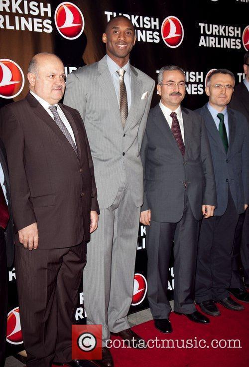 Hamdi Topcu, Kobe Bryant, and guests Kobe Bryant...