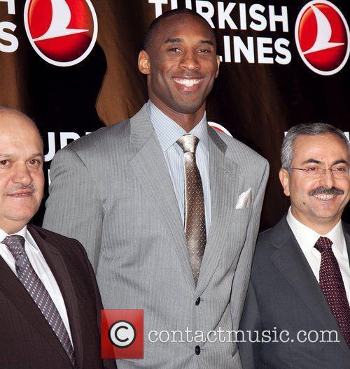 Hamdi Topcu, Kobe Bryant, and guest Kobe Bryant...