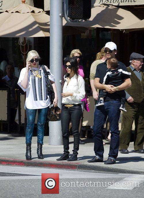Kourtney Kardashian and La Scala 4
