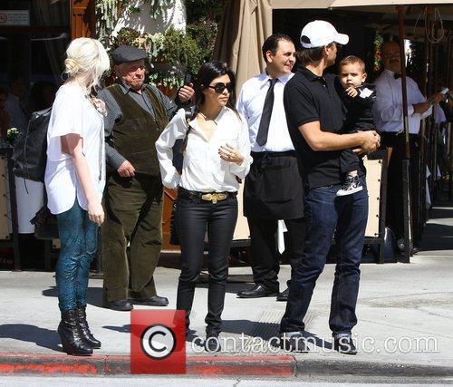 Kourtney Kardashian and La Scala 8