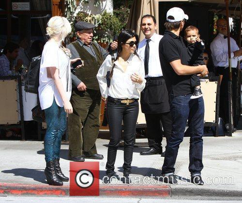 Kourtney Kardashian and La Scala 2