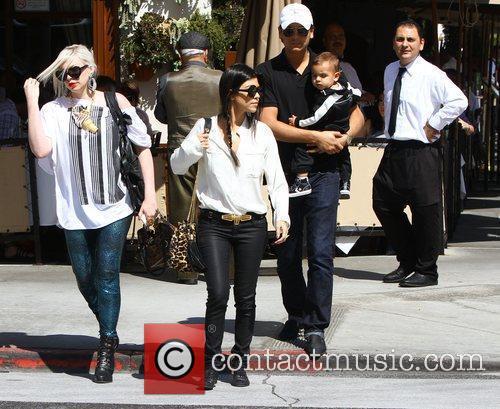 Kourtney Kardashian and La Scala 1