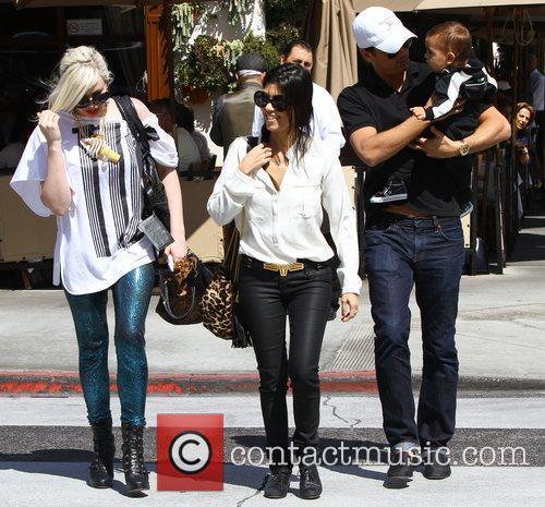 Kourtney Kardashian and La Scala 5