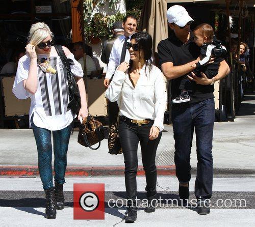 Kourtney Kardashian and La Scala 10