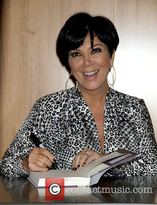 Kris Jenner signs copies of her new book...