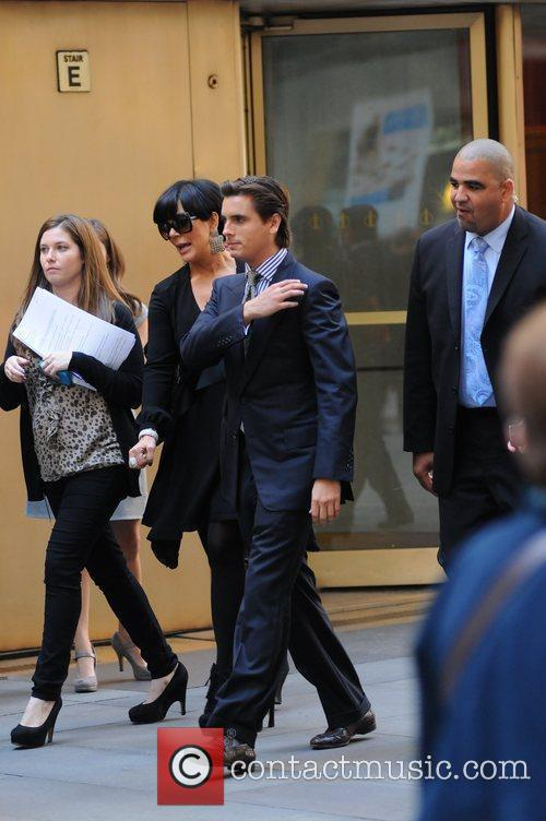 Kris Jenner and Scott Disick 6