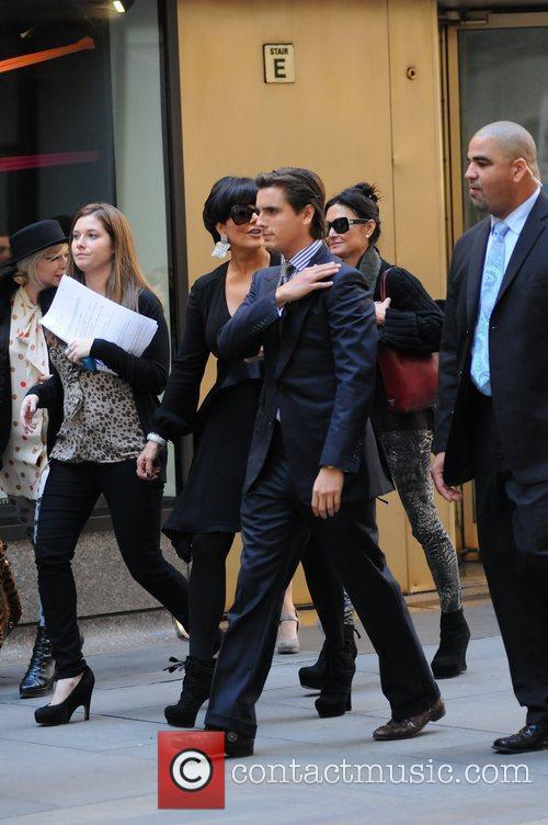 kris jenner and Scott Disick 9