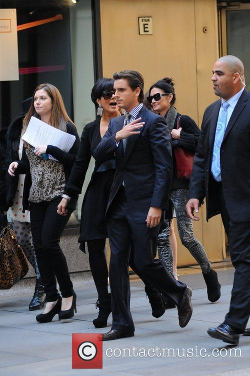 kris jenner and Scott Disick 10