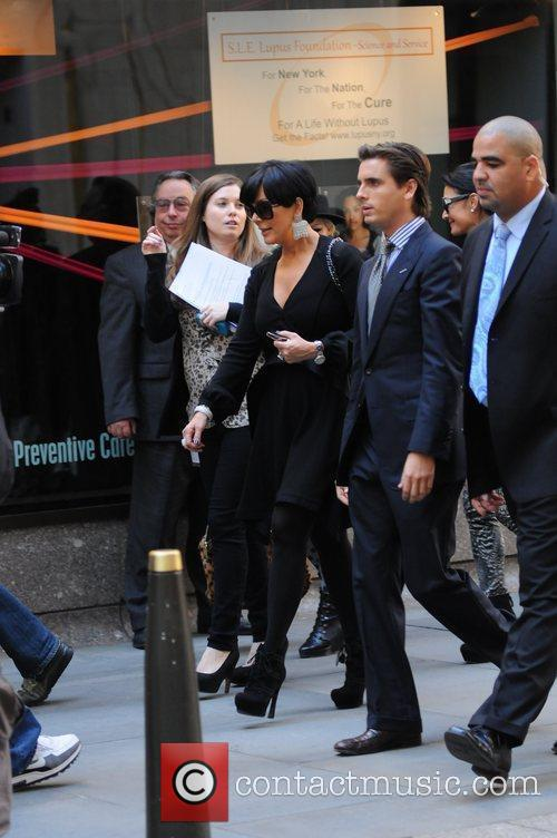Kris Jenner and Scott Disick 2