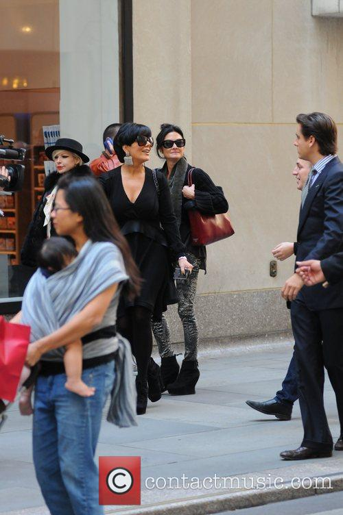 Kris Jenner and Scott Disick 8
