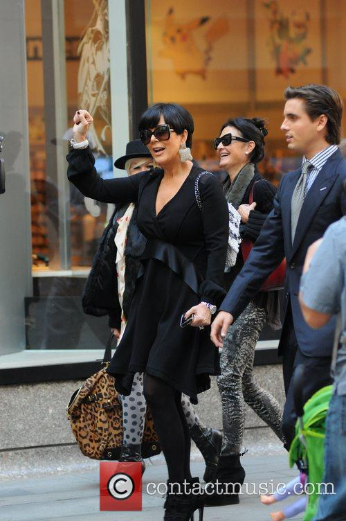 kris jenner and Scott Disick 1