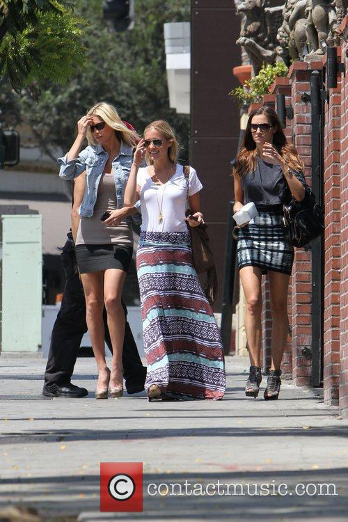 Newly single Kristin Cavallari is seen with friends...