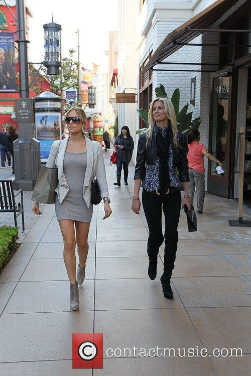 Kristin Cavallari goes shopping at The Grove with...