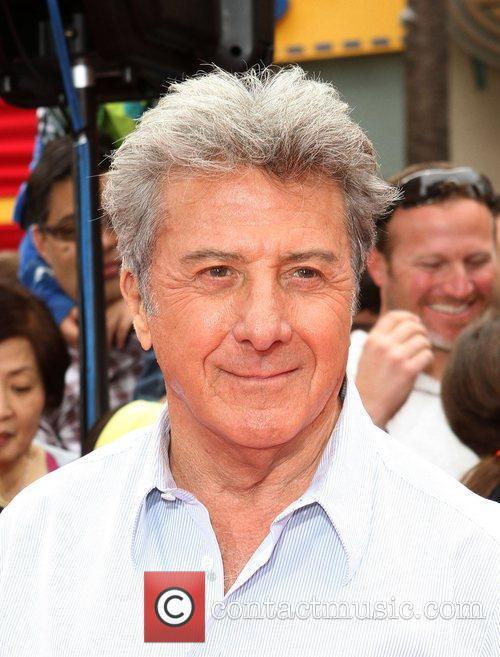 Dustin Hoffman Los Angeles premiere of 'Kung Fu...