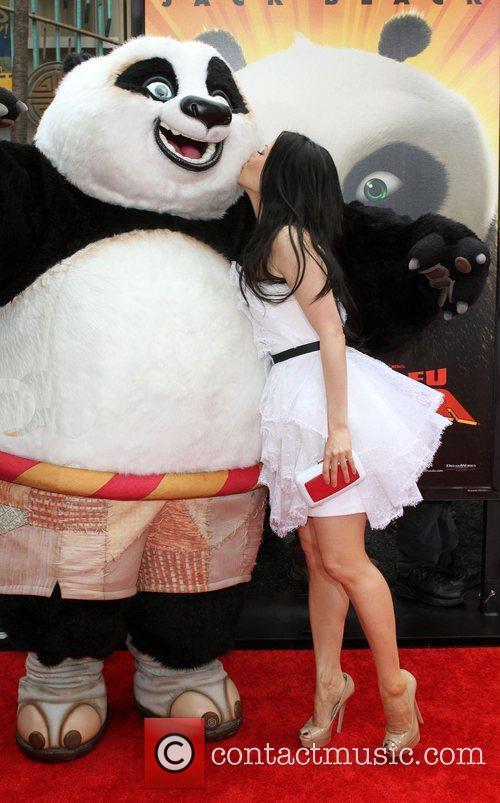 Lucy Liu Los Angeles premiere of 'Kung Fu...