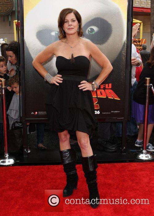 Marcia Gay Harden Los Angeles premiere of 'Kung...