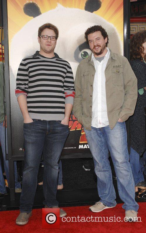 Seth Rogen, Danny McBride  Los Angeles premiere...