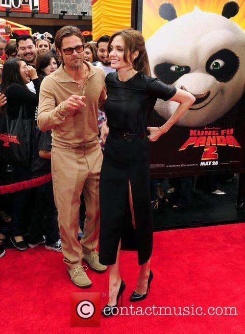 Brad Pitt and Angelina Jolie 12