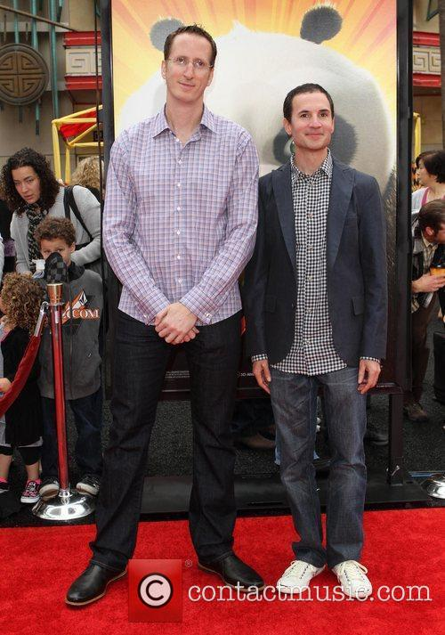 Glenn Berger and Jonathan Aibel Los Angeles premiere...