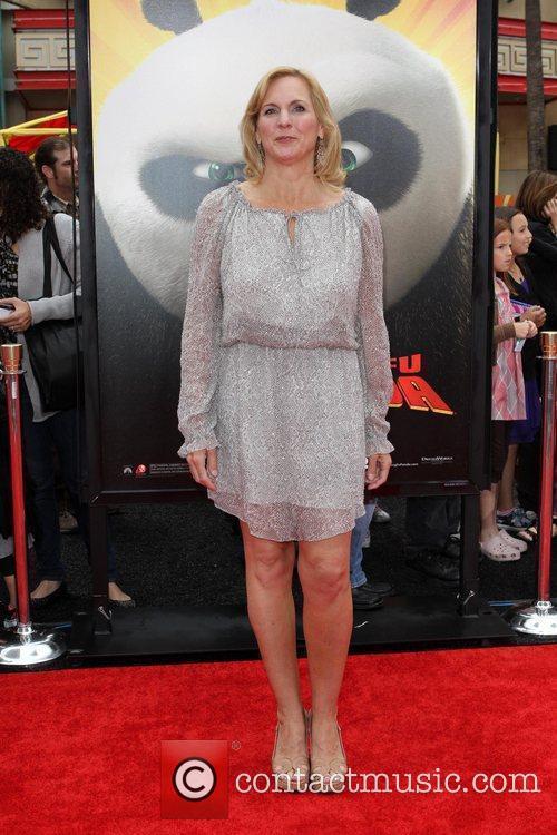 Melissa Cobb Los Angeles premiere of 'Kung Fu...