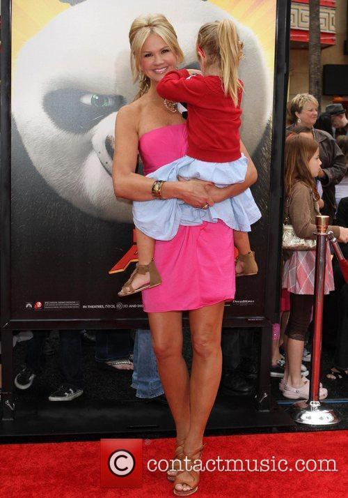 Nancy O'Dell daughter Ashby Grace Los Angeles premiere...