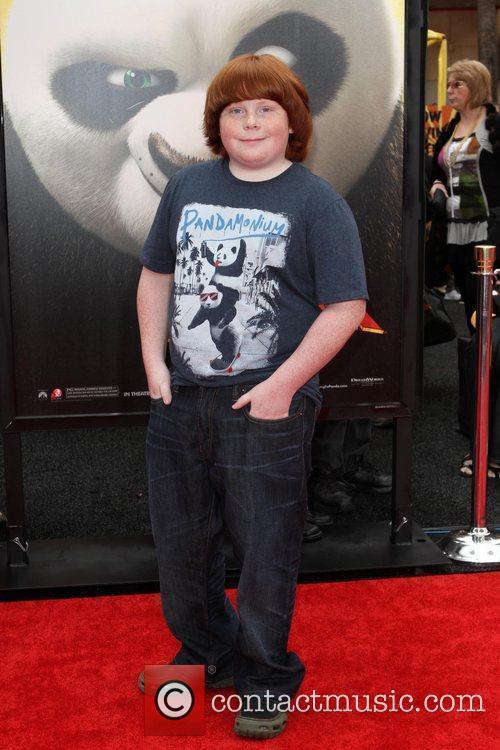 Tucker Albrizzi Los Angeles premiere of 'Kung Fu...