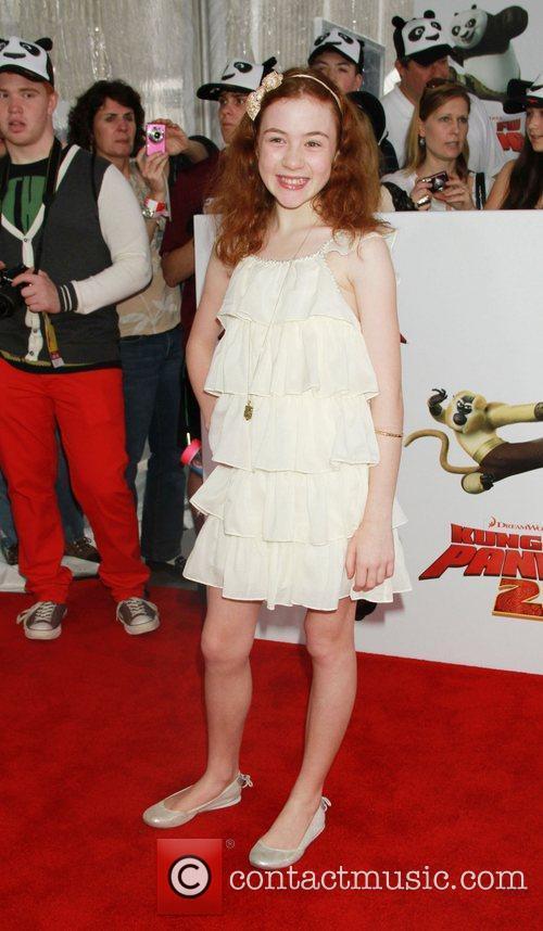 New York premiere of 'Kung Fu Panda II'...