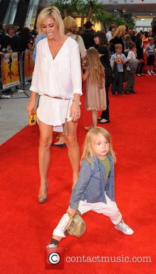 Jenny Frost with her son Kung Fu Panda...