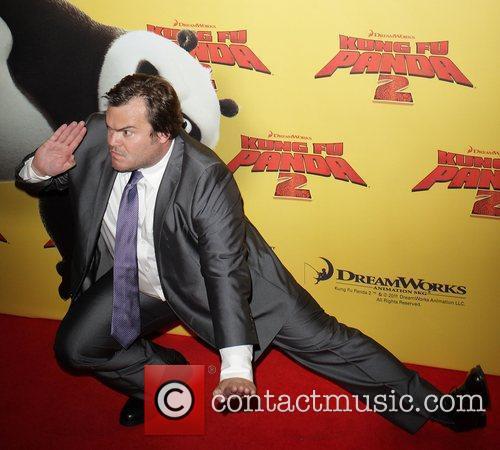 Jack Black The Australian premiere of 'Kung Fu...
