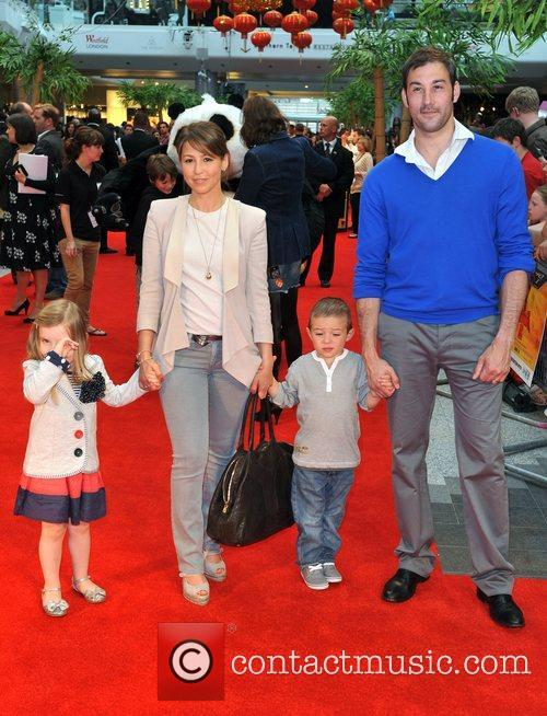 Rachel Stevens and husband Alex Bourne with Guests...