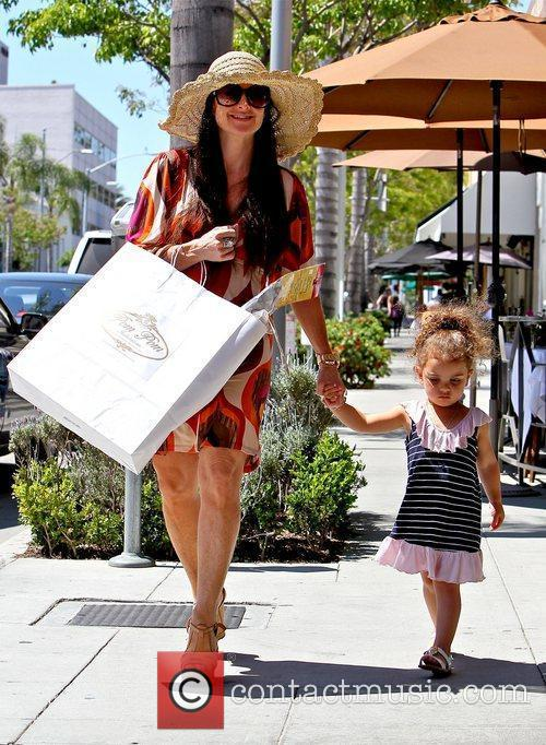 Shopping at Pom Pom in Beverly Hills