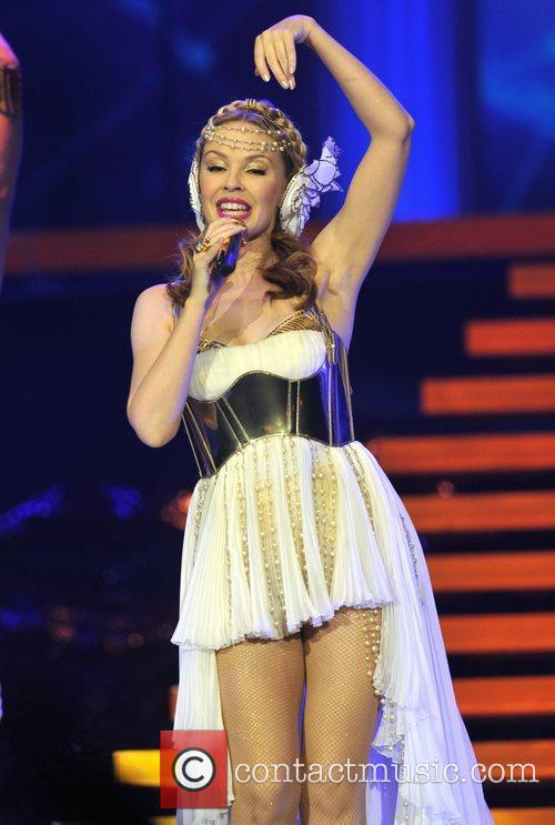 Performs live at The O2 Arena on her...