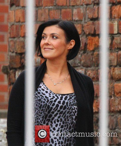 Returns to the set of Coronation Street after...