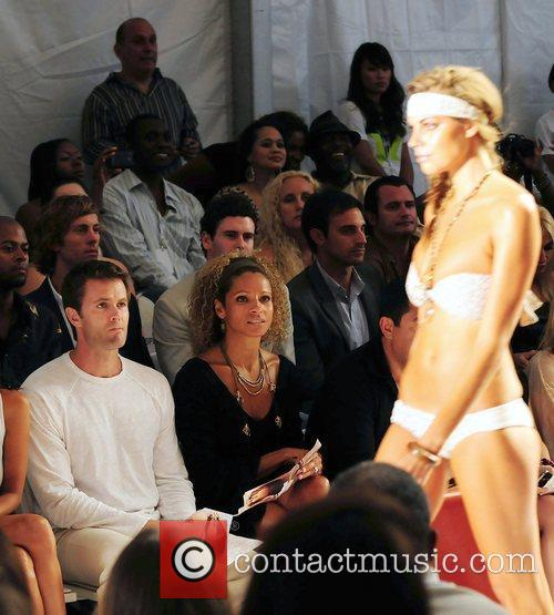 Garret Dillahunt, Michelle Hurd attend the L*SPACE BY...