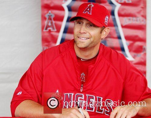 Jason Bulger attends the Los Angeles Angels of...