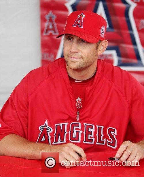 Attends the Los Angeles Angels of Anaheim 2011...