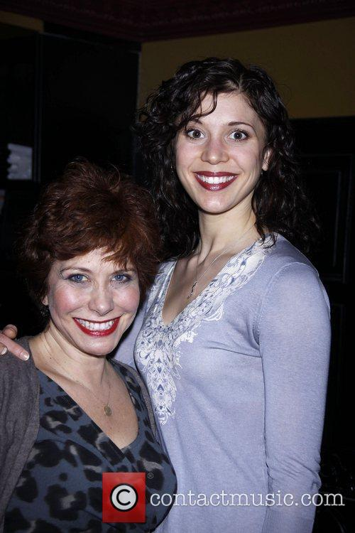 Cheryl Stern and Caitlin Mundth After party celebrating...