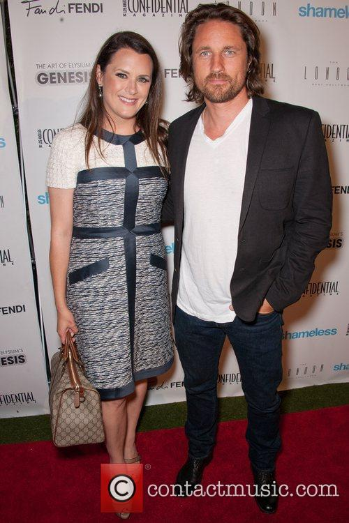 Jennifer Howell and Martin Henderson Emmy Rossum and...