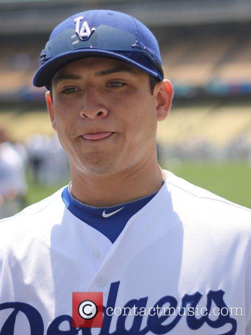 Javy Guerra The Los Angeles Dodgers Stadium hosts...