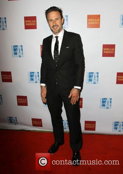 David Arquette at the L.A. Gay and Lesbian...
