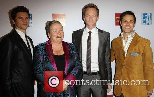 David Burtka, Lorri L. Jean and Neil Patrick...