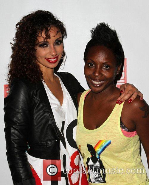 Mya, DJ Asha LA Gay Pride 2011 Day...