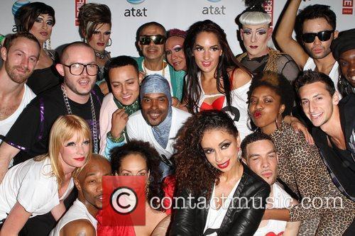 Mya and her dancers LA Gay Pride 2011...